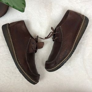 Clarks Originals Brown Leather Wallabee Boot